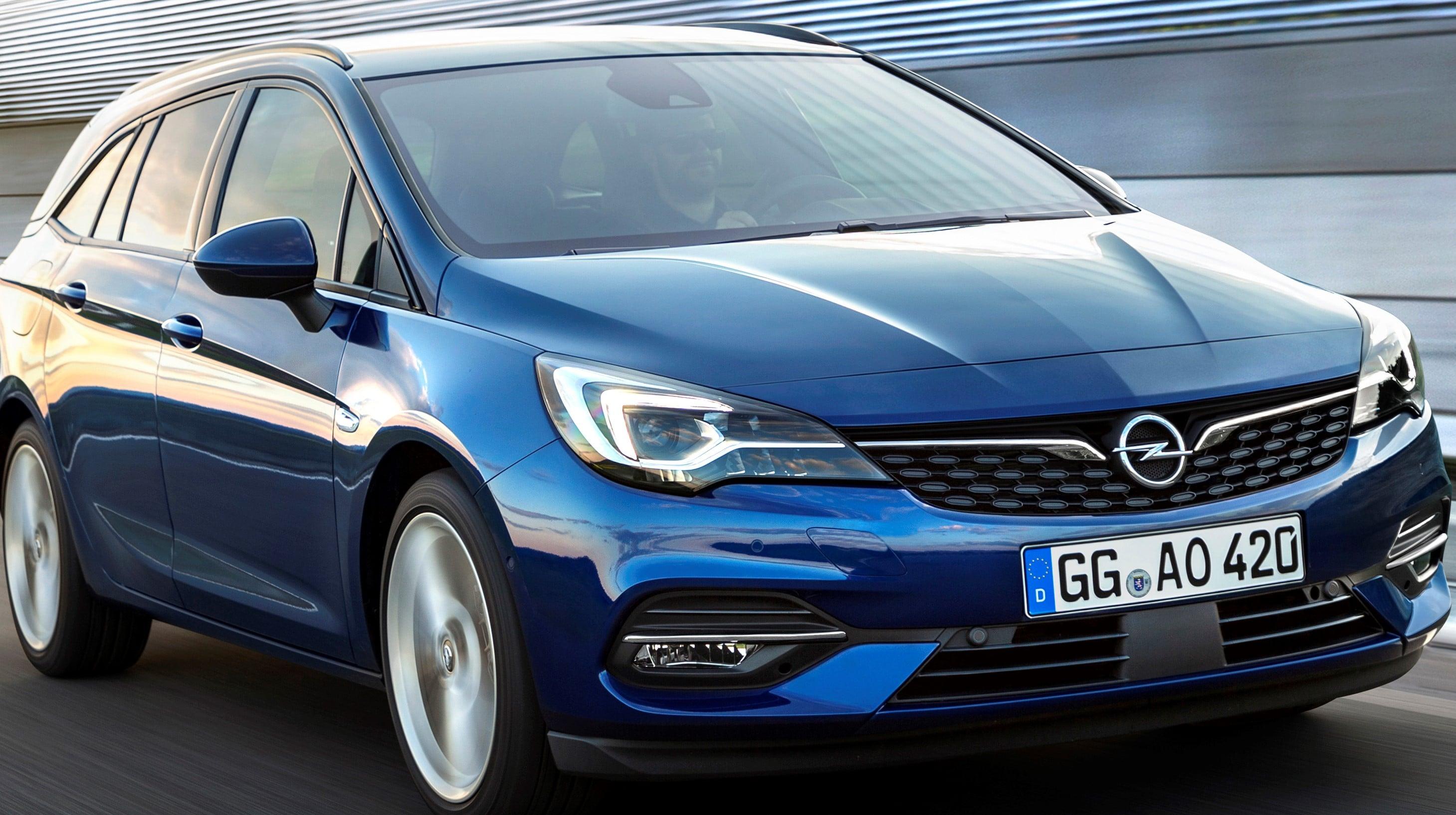 Inspektion bei einem Opel Astra K Sport Tourer 2019
