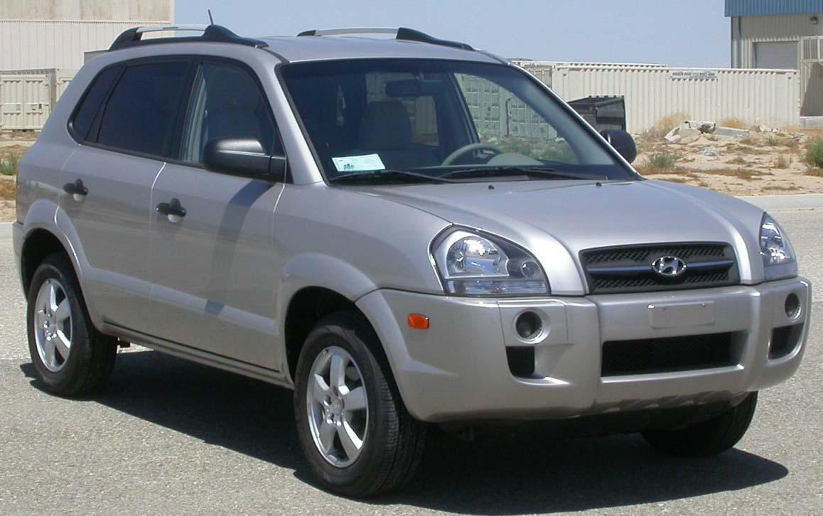 Inspektion bei einem Hyundai Tucson JM 2005