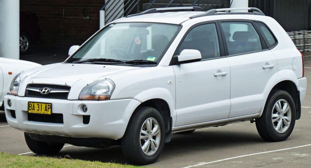 Hyundai Tucson (JM) Benziner