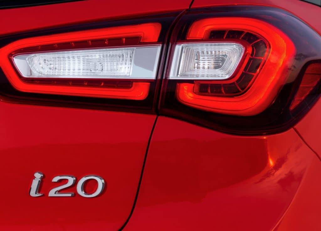 Inspektion bei einem Hyundai i20