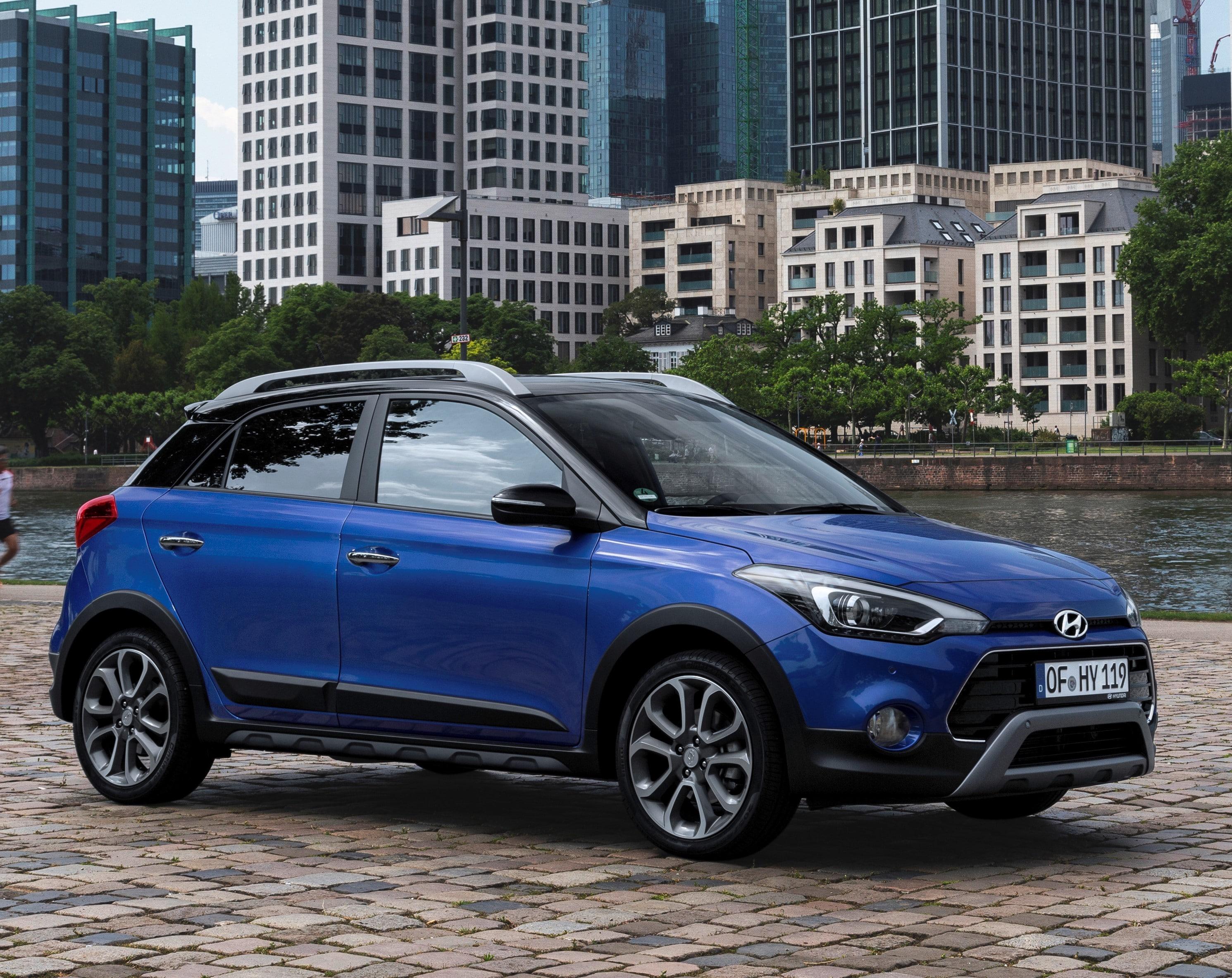 Inspektion bei einem Hyundai i20 Active von 2018