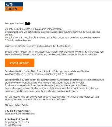 Autoscout24 Express Verkauf Erfahrungen Werkstattportal Magazin